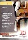 9788468111353: Camarero/a Limpiador/a, Personal Laboral (Grupo V) de la Administraci¾n de la Comunidad Aut¾noma de Extremadura. Temario