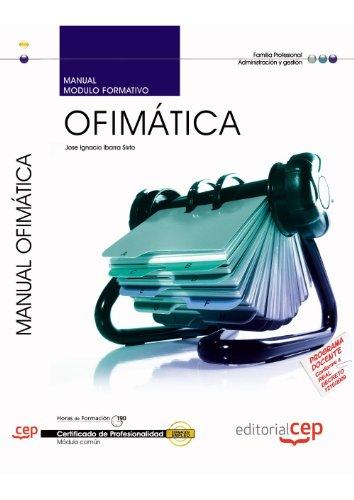 9788468115764: Manual Ofimática (MF0233_2:Transversal). Certificados de Profesionalidad