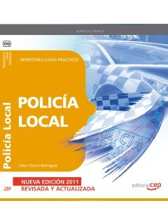 9788468119151: Policía Local. Repertorio Casos Prácticos (Colección 54)