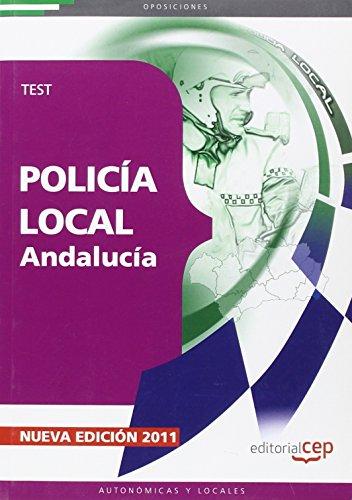 9788468119533: Policía Local de Andalucía. Test (Colección 212)