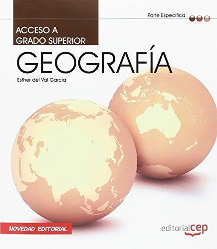 9788468120690: Acceso a Ciclos Formativos de Grado Superior: Parte Especifica ge Ografia