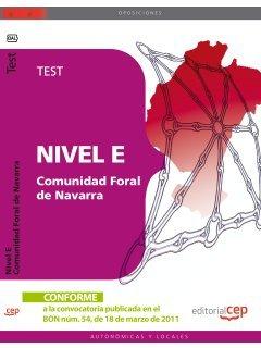 Nivel E, Comunidad Foral de Navarra. Test (Paperback): AA.Vv.