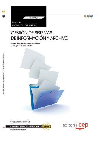 Manual. Gestión de sistemas de información y