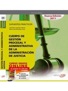 9788468121925: Cuerpo de Gestión Procesal y Administrativa Administración de Justicia. Supuestos Prácticos (Colección 1)