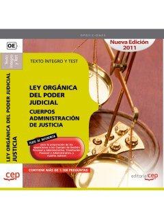 9788468122403: Ley Orgánica del Poder Judicial. Cuerpos Administración de Justicia. Texto Íntegro y Test (Colección 699)