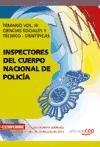 INSPECTORES DEL CUERPO NACIONAL DE POLICÍA CIENCIAS: César Charro Rodríguez,