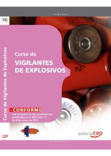 9788468124070: Curso de vigilantes de explosivos