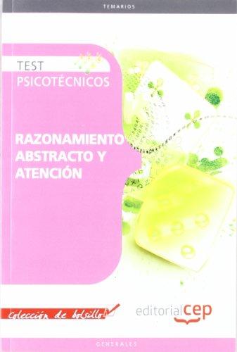 9788468125671: TEST PSICOTECNICOS: RAZONAMIENTO ABSTRACTO Y ATENCION