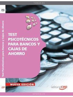 9788468125787: TEST PSICOTECNICOS PARA BANCOS Y CAJAS DE AHORRO