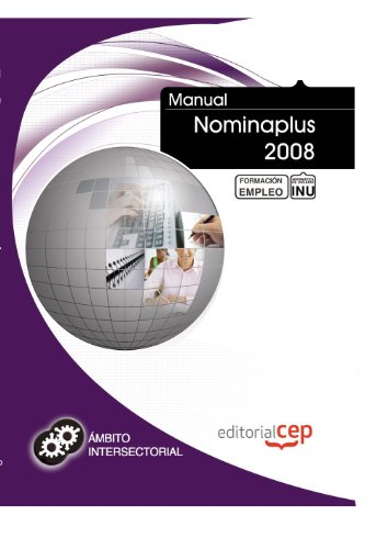 9788468127699: Manual Nominaplus 2008. Formación para el empleo (Formacion Intersectorial)