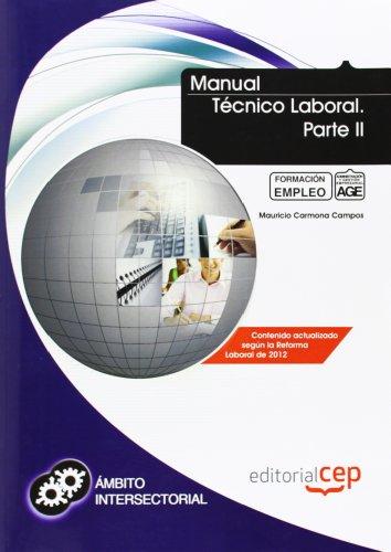 9788468144078: Manual Técnico Laboral. Parte II. Formación para el empleo