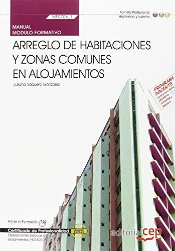 9788468144870: Manual arreglo de habitaciones y zonas comunes en alojamientos. Certificados de profesionalidad. Operaciones básicas de pisos en alojamientos