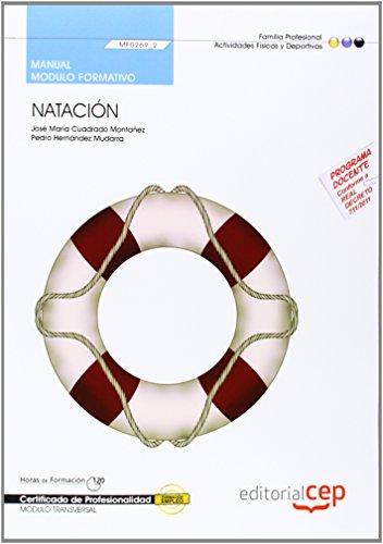 9788468145457: Manual Natación (MF0269_2: Transversal). Certificados de Profesionalidad