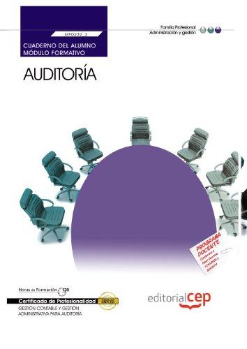 9788468147642: Cuaderno del Alumno Auditoría (MF0232_3). Certificados de Profesionalidad. Gestión contable y Gestión Administrativa para Auditoría (ADGD0108)