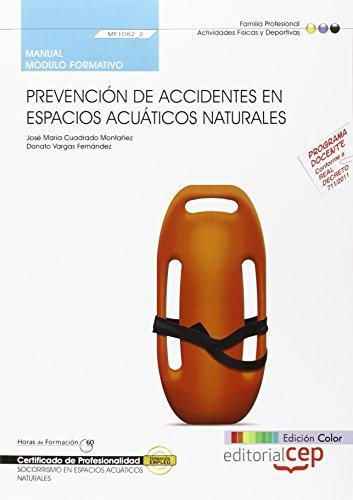 9788468147758: MANUAL EDICION COLOR PREVENCION DE ACCIDENTES EN ESPACIOS ACUATICOS N