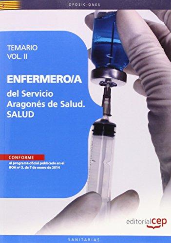 9788468151618: ENFERMERO/A DEL SERVICIO ARAGONES DE SALUD SALUD TEMARIO VOLII