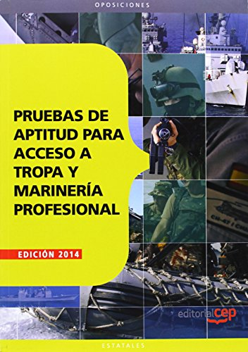 9788468151809: Pruebas de aptitud para acceso a Tropa y Marinería Profesional