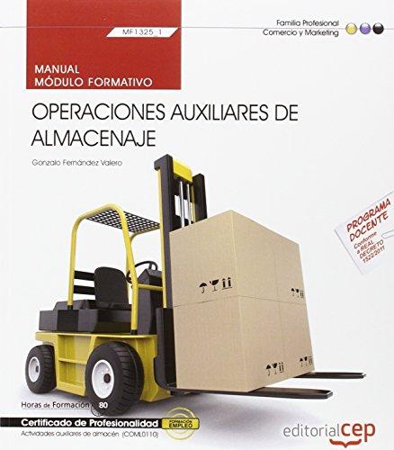 9788468151939: MANUAL OPERACIONES AUXILIARES DE ALMACENAJE MF1325_1 CERTIFICADOS