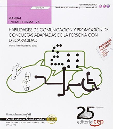 Manual de habilidades de comunicación y promoción: Maria Natividad Elvira