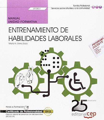 Manual de entrenamiento de habilidades laborales : Maria Natividad Elvira