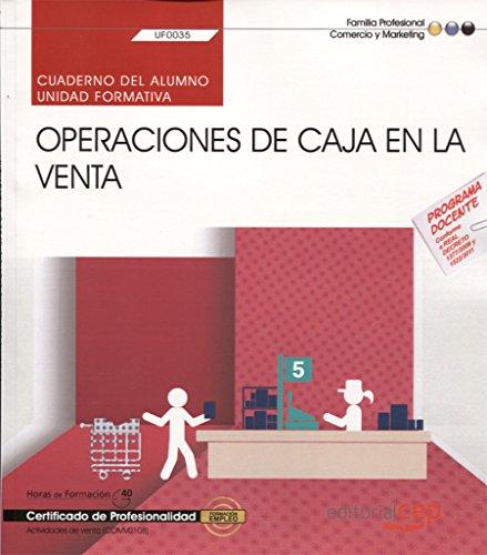 9788468165530: Cuaderno del alumno Operaciones de caja en la venta. Certificados de profesionalidad. Actividades de venta