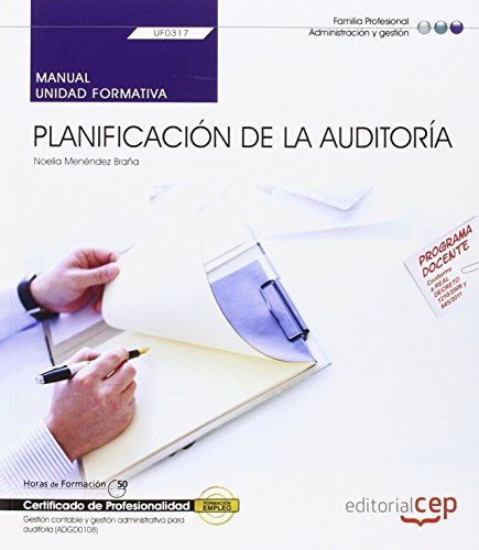 MANUAL PLANIFICACION DE LA AUDITORIA: UF0317
