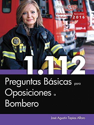 9788468175171: 1.112 Preguntas Básicas para Oposiciones a Bombero