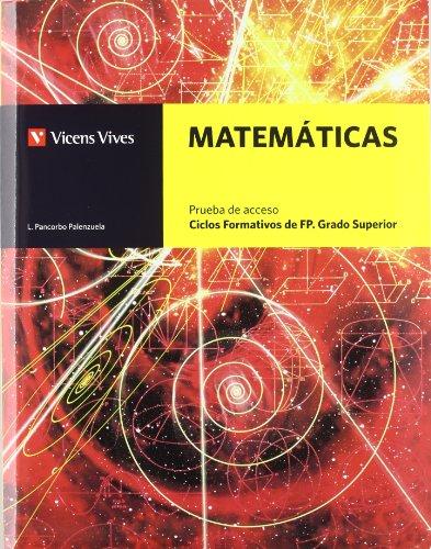 9788468200446: Matematicas. Ciclos Formativoss Grado Superior. Formacion