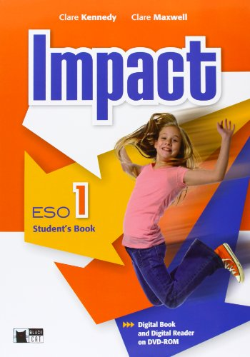 9788468200859: Impact 1 Student's Book+dvd-rom (Black Cat. Course Books) - 9788468200859