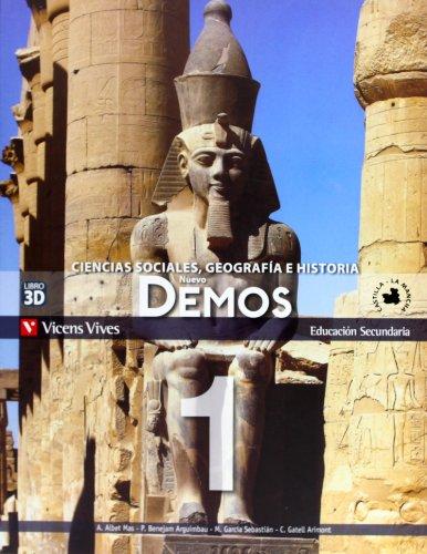 9788468201337: Nuevo Demos 1 Castilla-la Mancha (ed. 2012) - 9788468201337