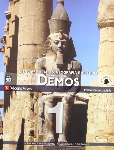9788468201351: Nuevo Demos 1 Extremadura - 9788468201351