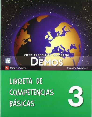 9788468202341: Nuevo Demos 3 Libreta Competencias Basicas