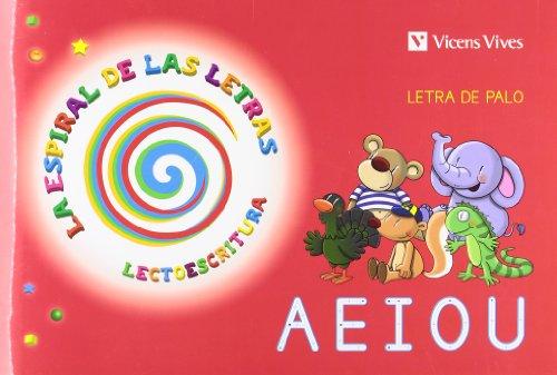 9788468202853: Espiral Letras. Lectoescritura 1 Letra Palo: Cuento de las vocales (La Espiral de Las letras) - 9788468202853