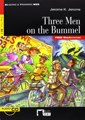 9788468203041: Three Men On The Bummel +cd (fw) (Black Cat. reading And Training)