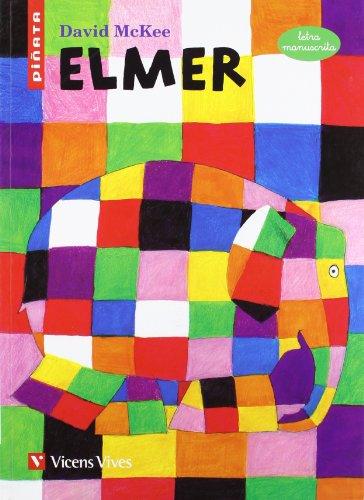9788468203065: Elmer, letra manuscrita, Educación Primaria. Material auxiliar