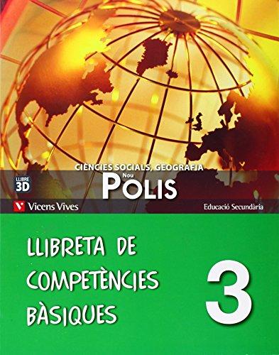 9788468203980: Nou Polis 3 Llibreta Competencies Basiques - 9788468203980