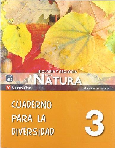 9788468204406: Nuevo Natura 3 Cuaderno Diversidad