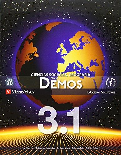 9788468204994: Nuevo Demos 3 Valencia Trimestralizado - 9788468204994