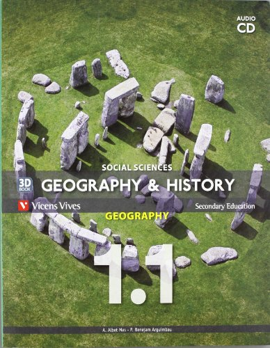 9788468205595: Geography and history 1º ESO