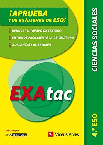 9788468206066: Exatac 4 ESO. Ciencias Sociales (Exatac. Castellano) - 9788468206066