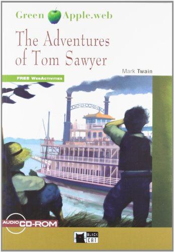 9788468206318: The Adventures Of Tom Sawyer+cd-rom (Black Cat. Green Apple)