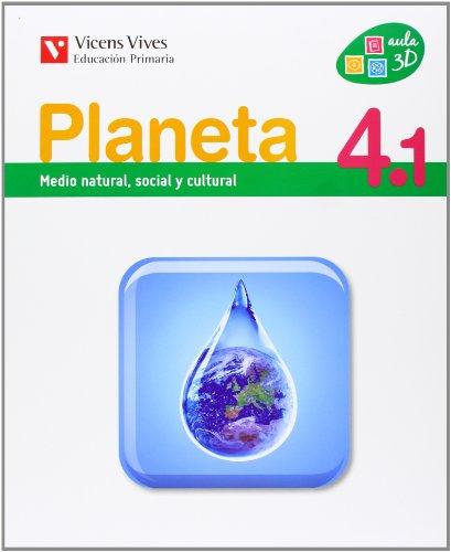 9788468207872: Planeta 4 Castilla Y Leon (4.1-4.2-4.3)