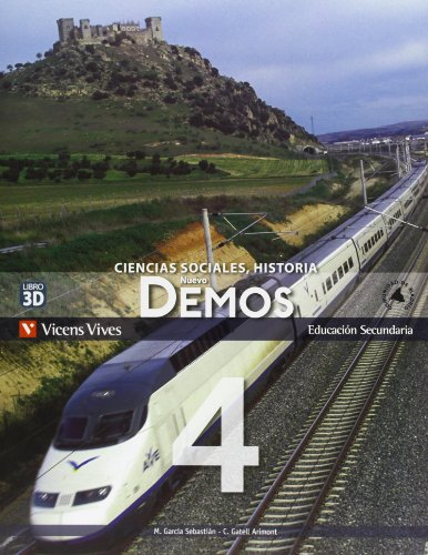 9788468208718: Nuevo Demos 4 Madrid