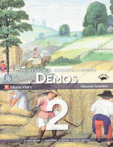 9788468208992: Nuevo Demos. Ciencias Sociales, Geografía e Historia, 2º ESO
