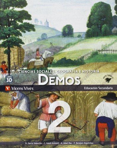 9788468209197: Nuevo Demos 2 Pais Vasco - 9788468209197