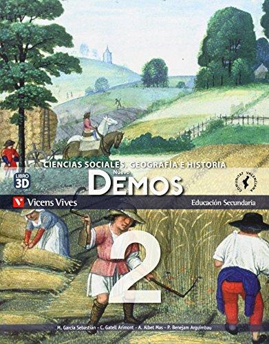 9788468209210: Nuevo Demos 2 Comunidad Valenciana - 9788468209210