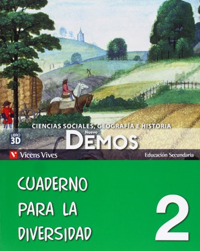 9788468209906: Nuevo Demos. Ciencias Sociales, Geografía e Historia, 2º ESO. Cuaderno de diversidad