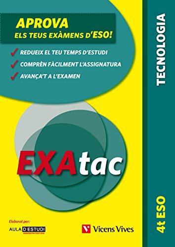 9788468213750: Exatac 4 ESO. Tecnologia (Exatac. Català) - 9788468213750