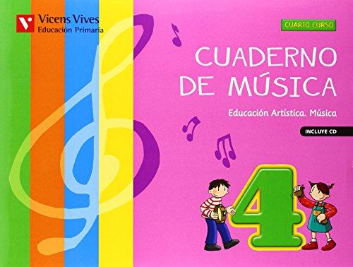 9788468214191: Cuaderno De Música 4 (+CD) - 9788468214191