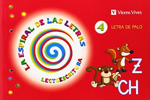 9788468214535: Espiral Letras. Lectoescritura 4 Letra Palo (La Espiral de Las letras) - 9788468214535